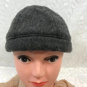 Vintage Streetwear Wool Blend 6 Panel Docker Hat
